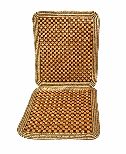Zone Tech Natural Beaded Seat Cushion (Wood Seat Cover compare prices)