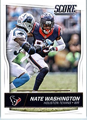 2016 Score #132 Nate Washington Houston Texans Football Card