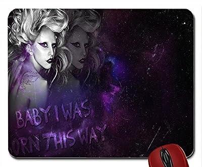 Born This Way-Lady Gaga mouse pad computer mousepad