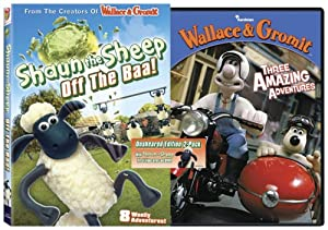 Shaun the Sheep: Off the Baa!/Wallace and Gromit: Three Amazing Adventures