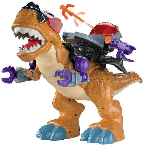 Game / Play Fisher-Price Imaginext Mega T-Rex. Dinosaur, Playset, Control, Plastic, Toy, Figures Toy / Child / Kid