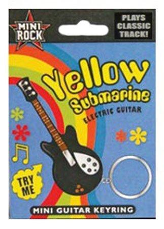 "The Beatles - Musical Electric Guitar Keyring! Plays ""Yellow Submarine"""