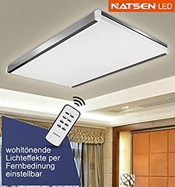 Natsen Led Deckenlampe Wandlampe I502 100w Warmweiß Kaltweiß