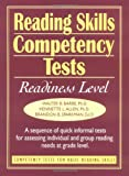 img - for Reading Skills Competency Tests: Readiness Level (J-B Ed: Ready-to-Use Activities) book / textbook / text book