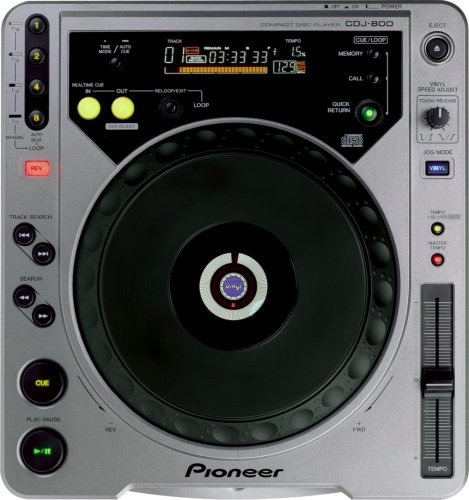 Find Cheap Pioneer CDJ-800 Table Top CD Player
