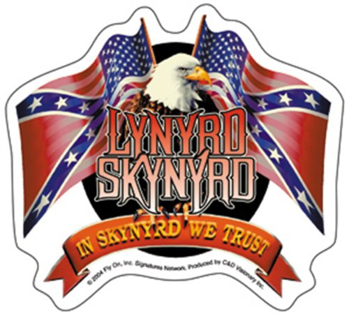 Licenses Products Lynyrd Skynyrd Flags Sticker