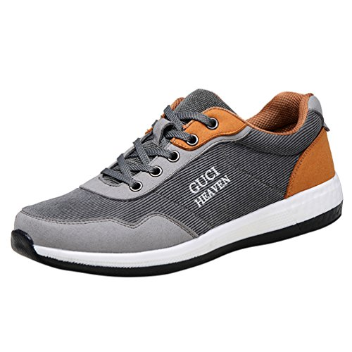 Passionow-Mens-Colorful-Match-Lace-up-Corduroy-Microfiber-Fashion-Sneakers