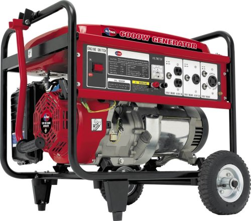 All Power America APG3009 6,000 Watt 13 HP OHV 4-Cycle Gas Powered Portable Generator