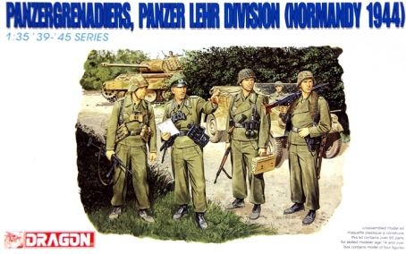 Dragon 1:35 Panzergrenadiers Panzer Lehr Div.Normandy 1944 Figure Kit #6111