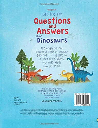 Lift-the-flap : questions and answers about dinosaurs (Lift-the-Flap Questions and Answert)