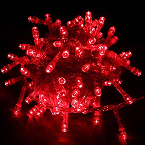 Warterproof 10M 100 Led String Fairy Lights Christmas Wedding Party Xmas Led Light 110V Us Plug