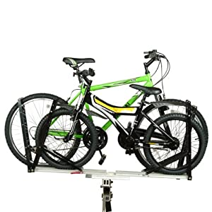 Buy Overland 2 Double Bike 1 1 4 Hitch Rack by Bicycle Surplus