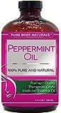 Pure Body Naturals Undiluted Essential Peppermint Oil, 4 fl. oz.