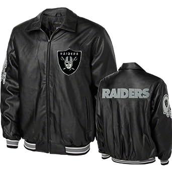 Buy Oakland Raiders GIII Faux Leather Jacket (XX-Large) by G-III Sports