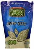 Natures Earthly Choice Shelled Hemp Seed, 8 Ounce