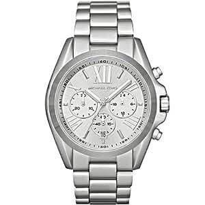Michael Kors Damen-Armbanduhr XL Chronograph Quarz Edelstahl MK5535