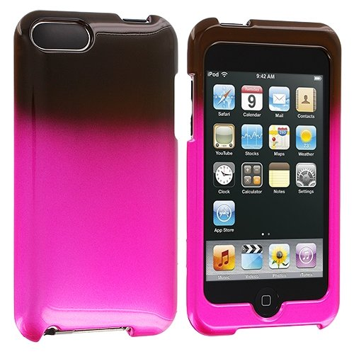 Schwarz / Pink Crystal Hard Case