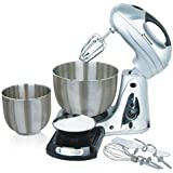 GForce GF-P1208-580 Professional Stand Mixer- 2 Qt./ 4 Qt. With Built-In Scale
