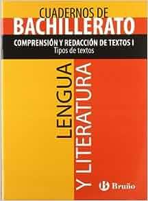 Cuaderno Lengua y Literatura Bachillerato Comprension y