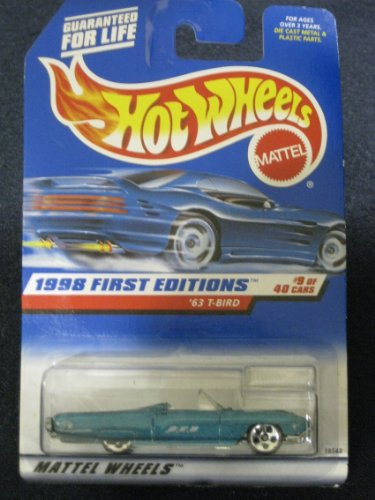 Hotwheels '63 T-Bird-1998 1st Editions #9 of 40 #644
