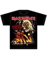 Global Men's Iron Maiden Number Of the Beast T-Shirt