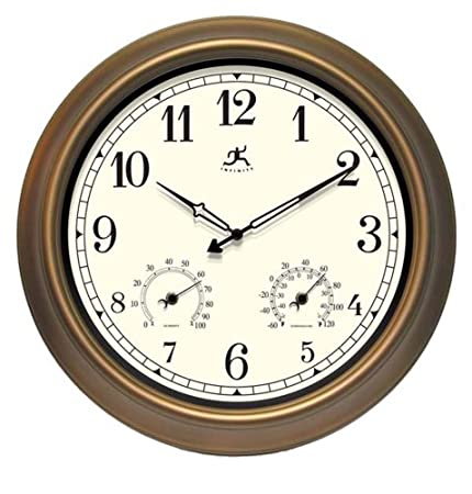 Amazon.com – Infinity Instruments Wall Clock – The Craftsman