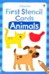 Animals (Usborne First Stencil Cards)