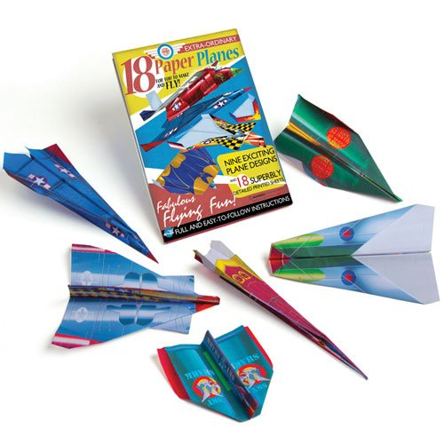 House Of Marbles Extra-Ordinary Paper Plane Kit HOBBY GENERAL