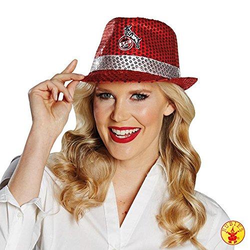 rubies-1fc-koln-fan-zubehor-hut-mutze-cap-fedora-cowboyhut-sonnencap-hennes-paillettenhut-