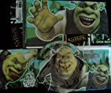 Shrek Forever After Theme Birthday Party Package Standard Kit ~ DreamWorks ~ Dessert Plates, Table Cover, Beverage Napkins, &amp; Loot (Favor) Bags ~ Serves 8