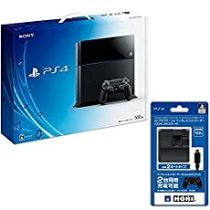 PlayStation 4 (PS4) ジェット・ブラック 500GB  (CUH-1100AB01) 【Amazon.co.jp限定特典】ACアダプタ for DUALSHOCK4付