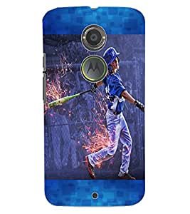 ColourCraft The Player Design Back Case Cover for MOTOROLA MOTO X2