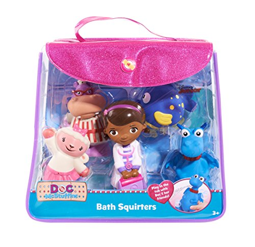 Disney Bath Squirters in Vinyl Bag