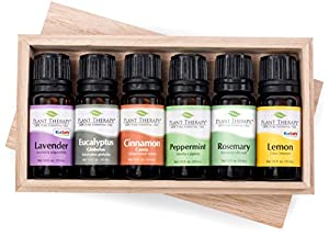 Plant Therapy Essential Oils Essential Oil Sampler Gift Set in Box