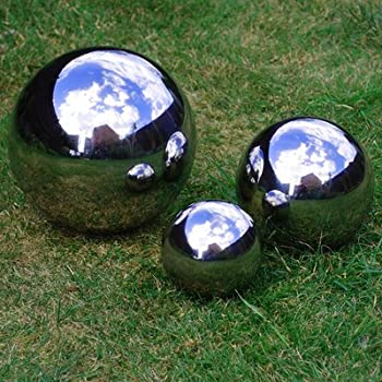 We are proud to present the Stainless Steel 9, 13 & 18cm Mirror Finish Sphere Set
