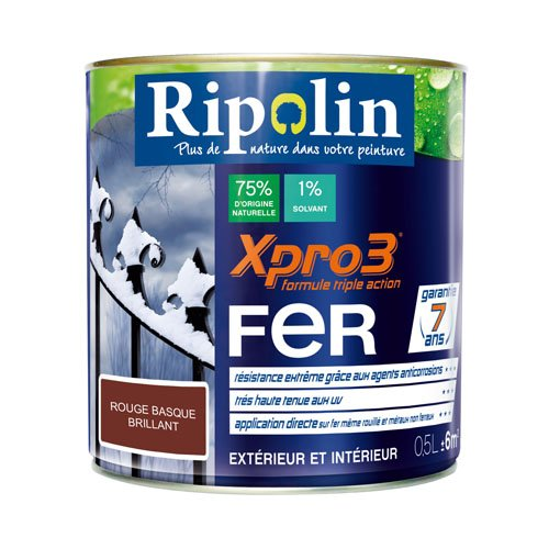 Peinture-fer-xpro3-05l-rouge-basque-Ripolin