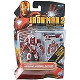 "Marvel Iron Man 2 Movie 3 3/4"" Concept Series Iron Man Inferno Mission Armor Action Figure"