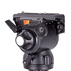 E-Image GH03F Pro Fluid Video Flat Head For Camera Tripod