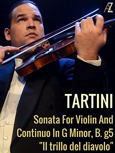 Tartini: Sonata For Violin And Continuo In G Minor, B. g5