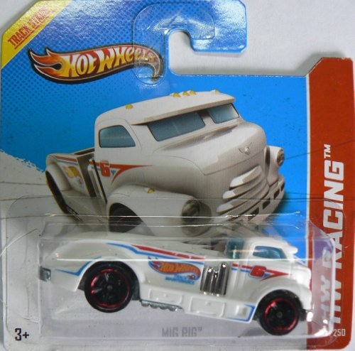 Hot Wheels Hw Racing 109/250 Mig Rig on Short Card - 1