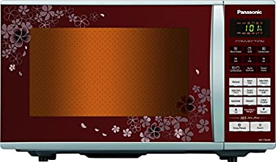 Panasonic CT662MFDG 27-Litre Convection Microwave Oven (Floral Red)