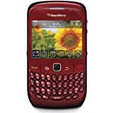 BlackBerry Curve 8520 Unlocked Quad-Band Cell Phone with 2 MP Camera, Bluetooth, Wi-Fi--International Version with Warranty (Red)