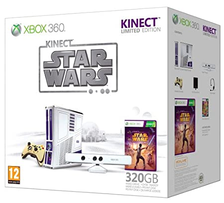Xbox 360 320GB Star Wars Kinect Console with Kinect Star Wars - Limited Edition (Xbox 360)