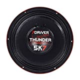 7 Driver 12-in Woofer 300 Maximum Watts 150 Rms Watts 8 Ohm Impedance (Tamaño: one size)