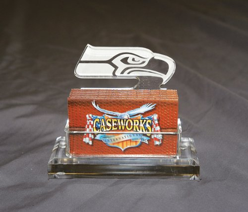 NFL Seattle Seahawks Business Card Holder in Gift Box at Amazon.com
