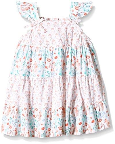pumpkin-patch-tile-print-tiered-dress-robe-bebe-fille-vert-opal-6-mois