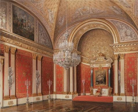 The Perfect Effect Canvas Of Oil Painting 'Hau Edward Petrovich,Interiors Of The Winter Palace,The Peter Hall,1807-1887' ,size: 12x15 Inch / 30x37 Cm ,this Reproductions Art Decorative Prints On Canvas Is Fit For Kids Room Artwork And Home Gallery Art And Gifts (Peter Pan Blu Ray Diamond compare prices)