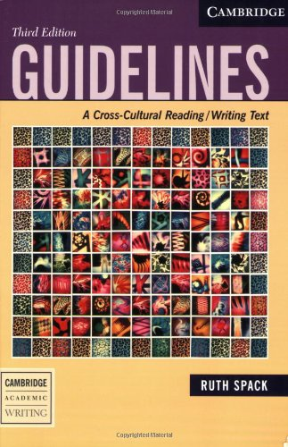 Guidelines: A Cross-Cultural Reading/Writing Text...
