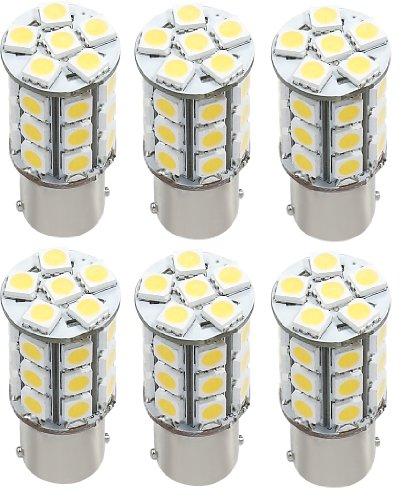 6 X Green Value Led 25002V-06 1156/1141 Base Tower Led Replacement Bulb 250 Lum 8-30V Natural White