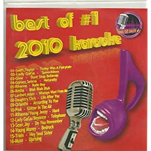 BEST OF 2010 #1 CD+G KARAOKE 16 Current Pop Songs